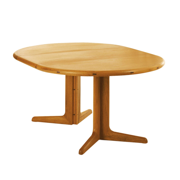Sun Cabinet 2050 Dining Table in Teak with Leaves