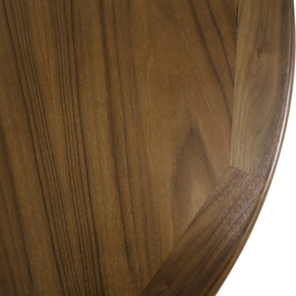 Sun Cabinet 2067 Dining Table in Walnut, Close Up