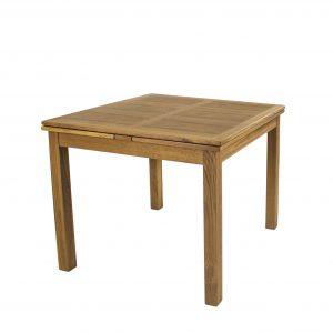 Sun Cabinet 2320 Dining Table Teak angle