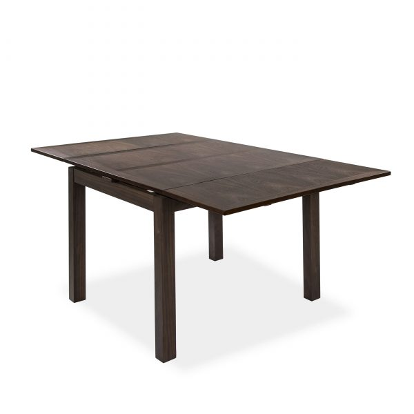 2320 Dining Table in Walnut, Angle, Extended
