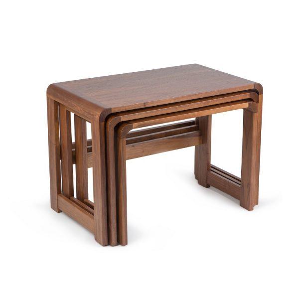 Sun Cabinet 3018 Nesting Tables in Walnut
