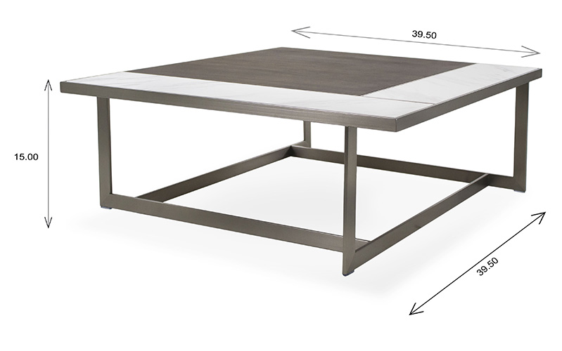 Banff Coffee Table Dimensions