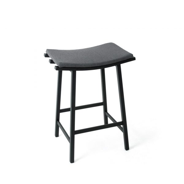 Amisco Nathan Counter Stool, Grey