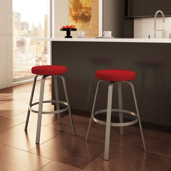 Amisco Reel Counter Stools in Kitchen