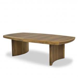 Sun Cabinet 6080 Coffee Table in Teak, Angle