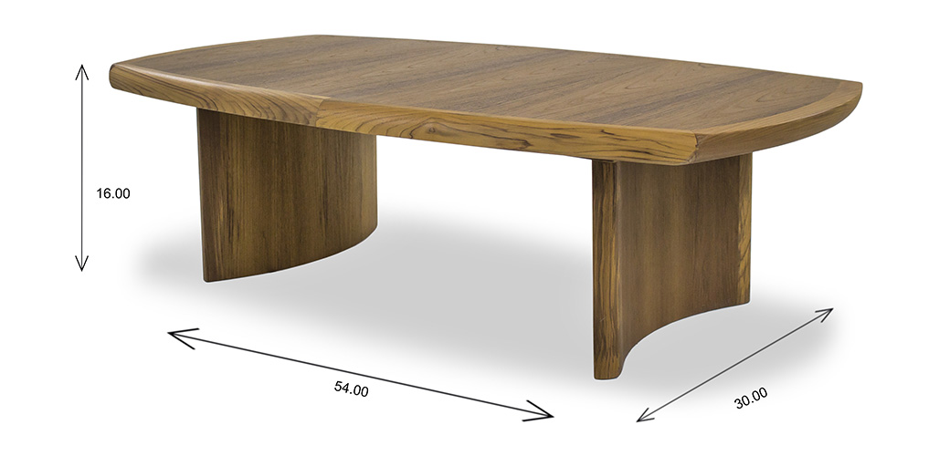 6080 Coffee Table with Dimensions
