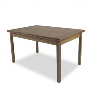 665 Dining Table in Walnut, Angle
