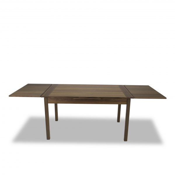 665 Dining Table in Walnut, Extended