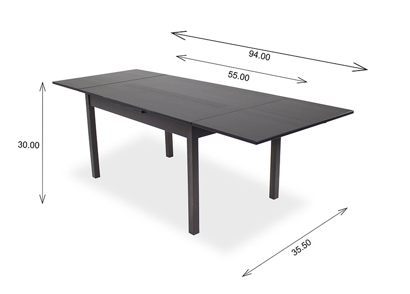 665 Dining Table Dimensions