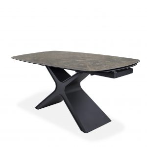 Alida Dining Table, Angle, Closed