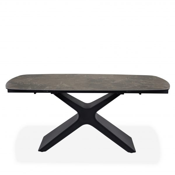 Alida Dining Table, Straight, Closed