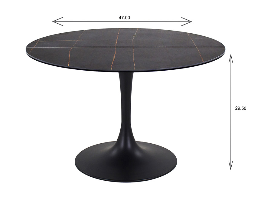 Astro Dining Table Dimensions