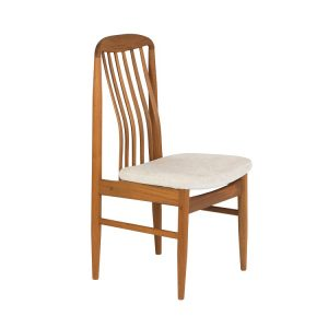 Sun Cabinet BL10 Dining Chair Front Angle in Teak