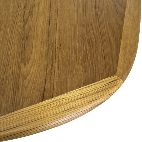 Sun Cabinet BL7 Dining Table in Teak, Close Detail