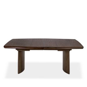 Sun Cabinet BL7 Dining Table in Walnut, Closed