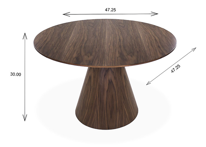 Bari Dining Table Dimensions