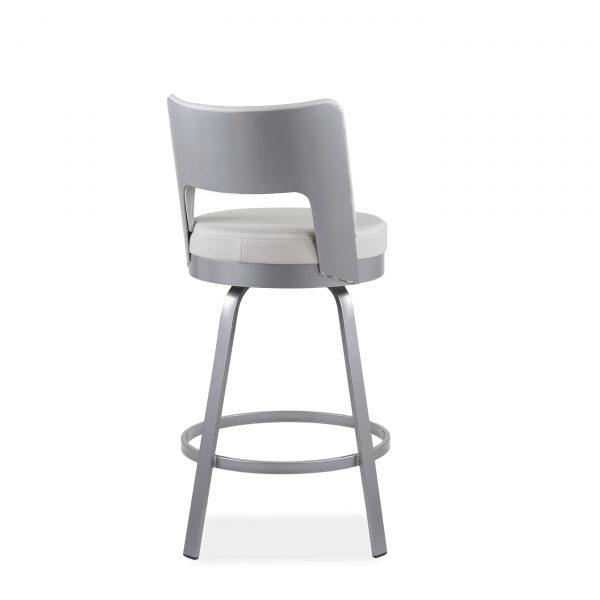 Brock Counter Stool in Parchment, Back