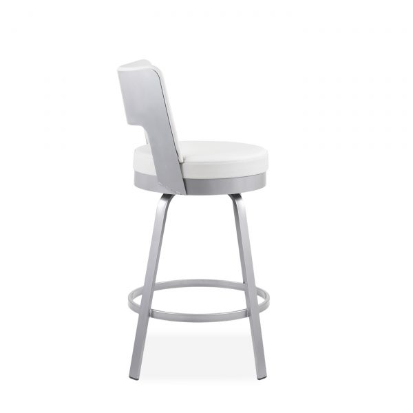 Brock Counter Stool in Parchment, Side