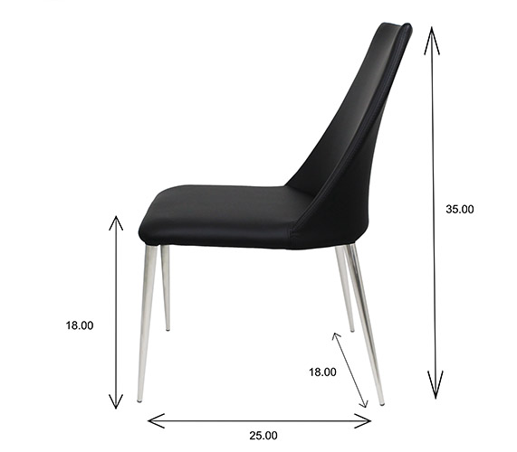 Clay Dining Chair Dimensions