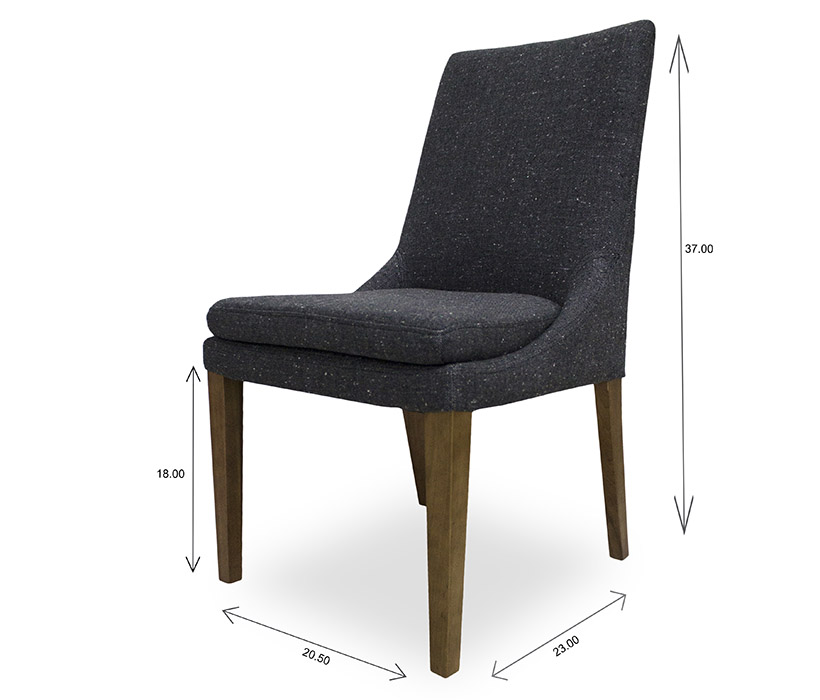 Cordova Dining Chair Dimensions