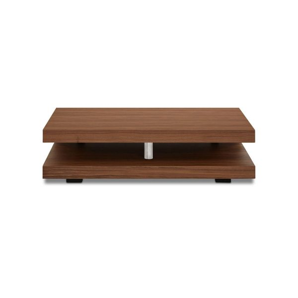 Cormac Coffee Table in Walnut, Back Straight
