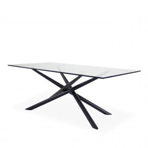Cyrus Coffee Table , Black, Angle