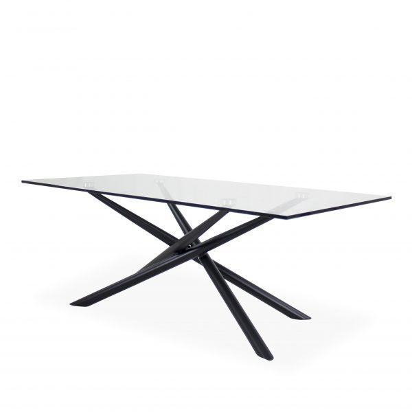 Cyrus Coffee Table , Black, Angle