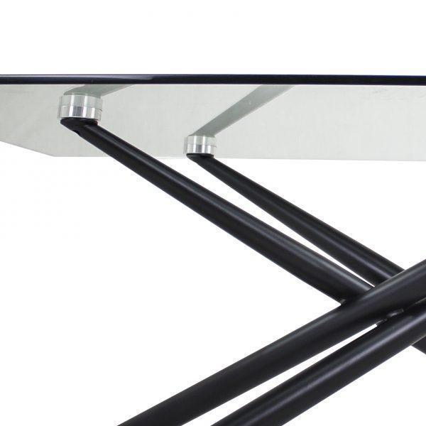 Cyrus Coffee Table , Black, Detail