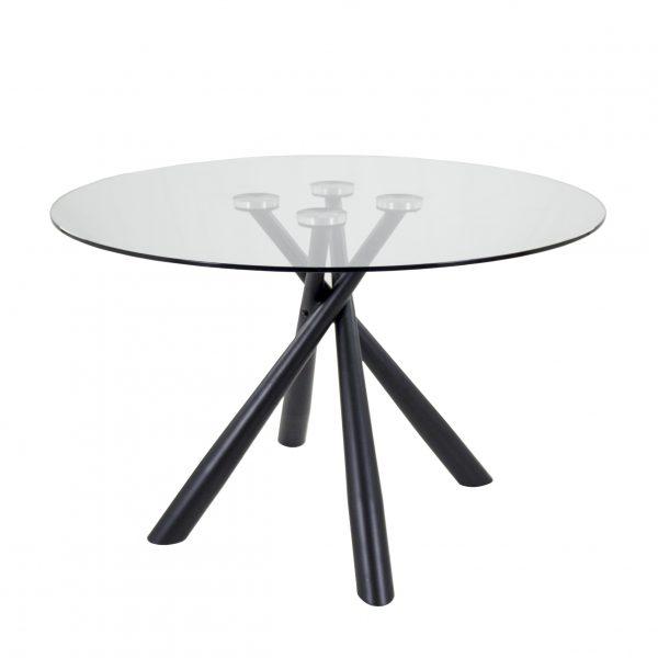 Cyrus Dining Table, Black