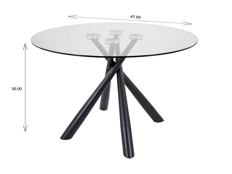 Cyrus Dining Table Dimensions