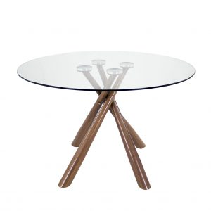 Cyrus Dining Table, Walnut