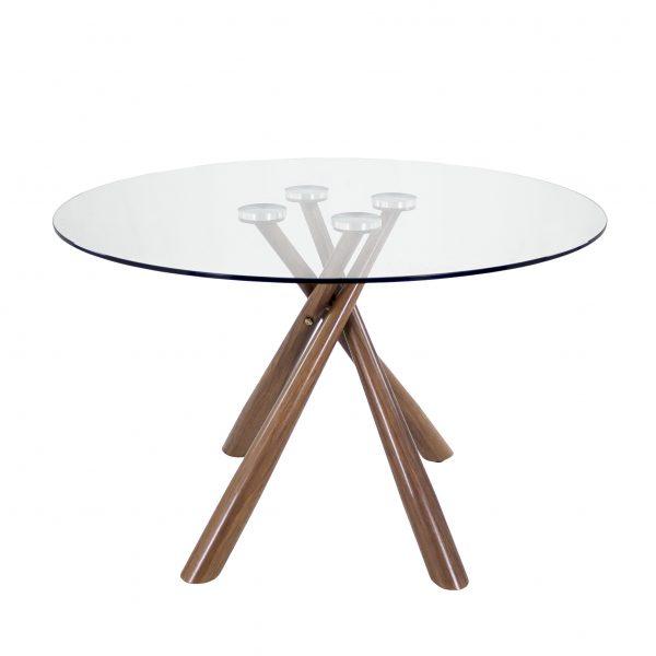 Cyrus Dining Table, Walnut