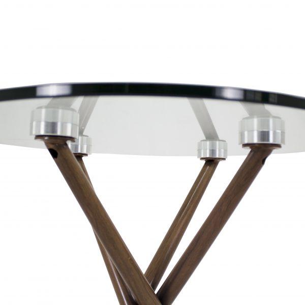 Cyrus End Table, Walnut, Detail