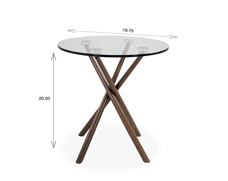Cyrus End Table Dimensions