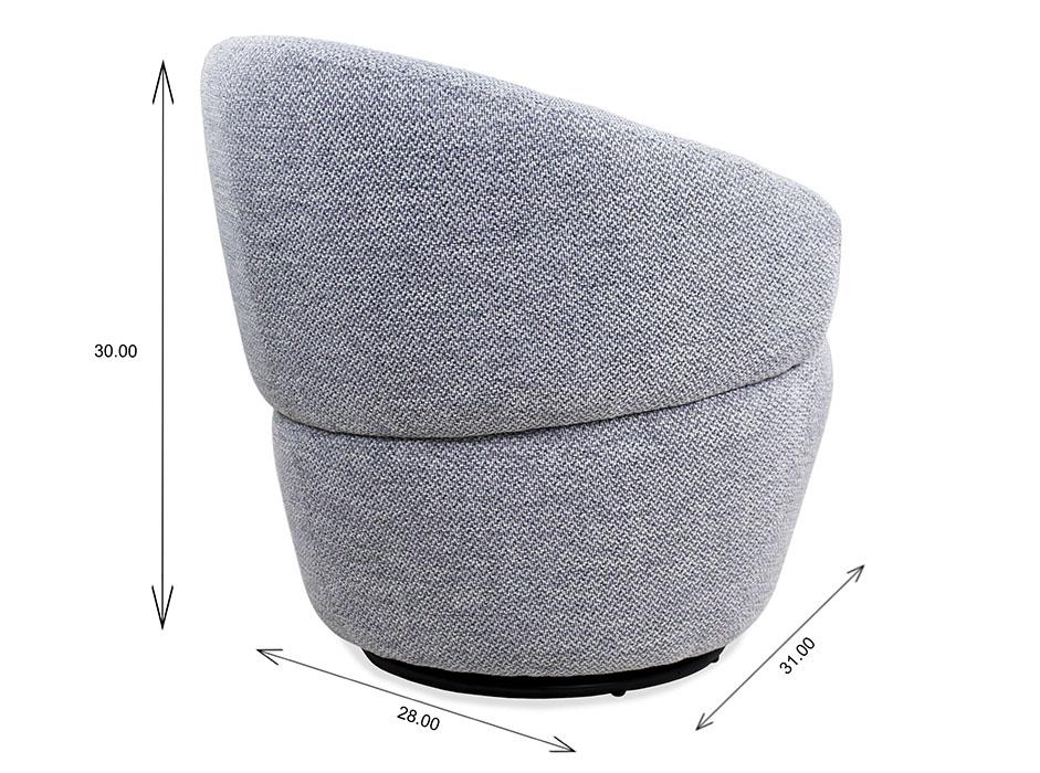 Dance Swivel Chair Dimensions