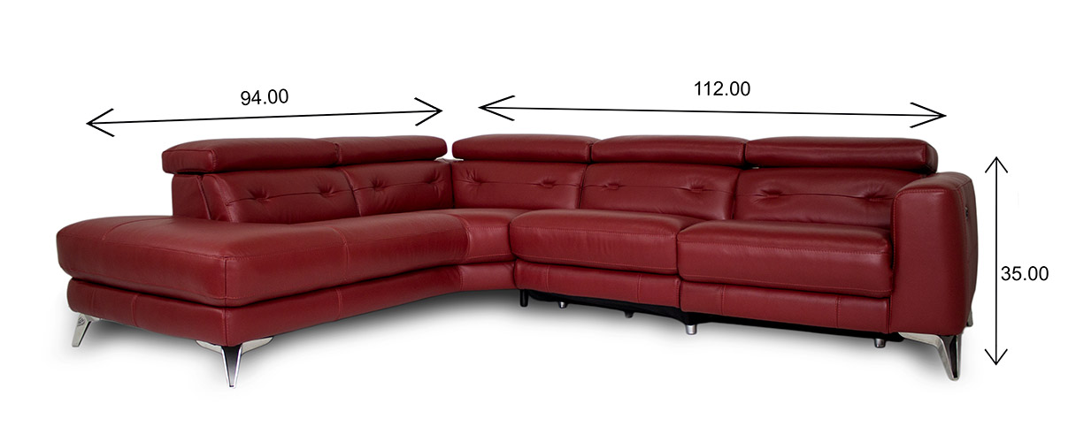 Denman Sectional Dimensions