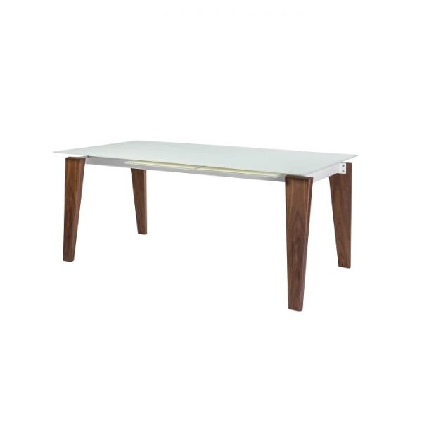 Dover Dining Table, Closed, Angle