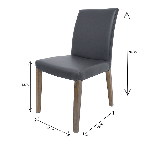 Earl Dining Chair Dimensions