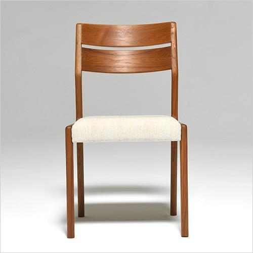 Sun Cabinet FS17 Dining Chair in Teak, Front
