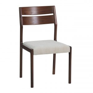Sun Cabinet FS17 Dining Chair in Walnut, Front Angle