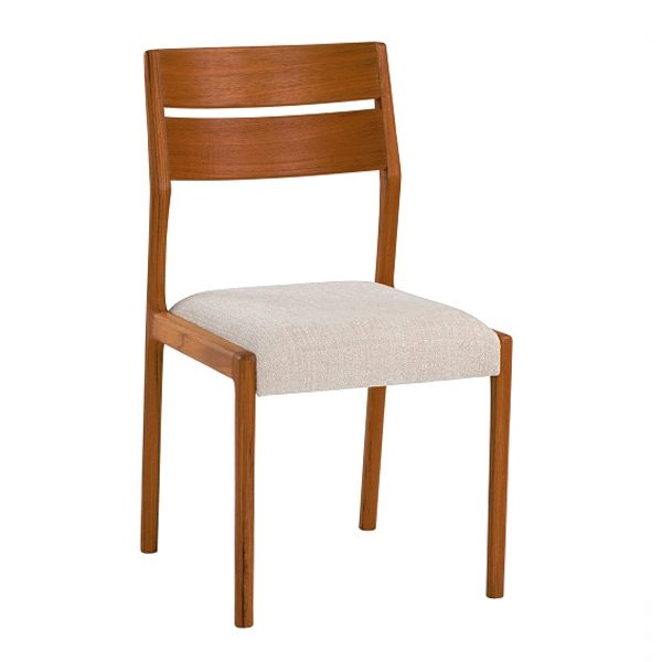 Sun Cabinet FS17 Dining Chair in Teak, Front Angle