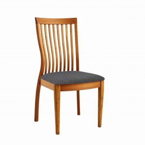 FS7 Dining Chair Teak, Charcoal