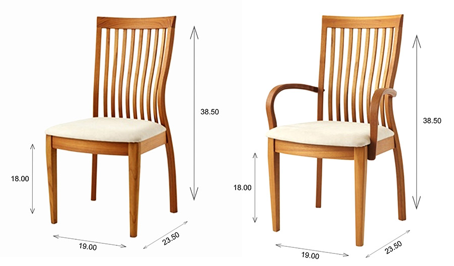 Sun Cabinet FS7 Dining / Armchair Dimensions