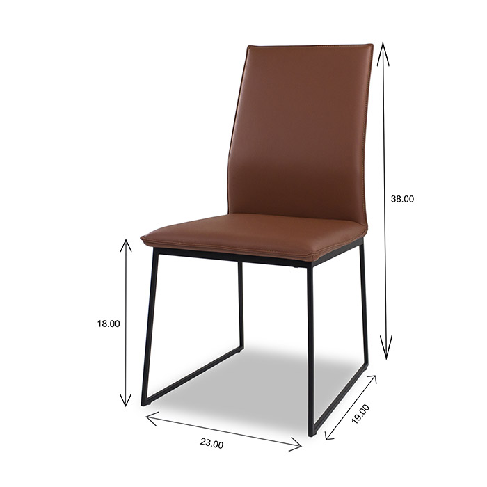 Lara Dining Chair Dimensions