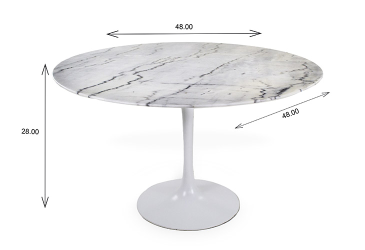 Lexi Dining Table Dimensions