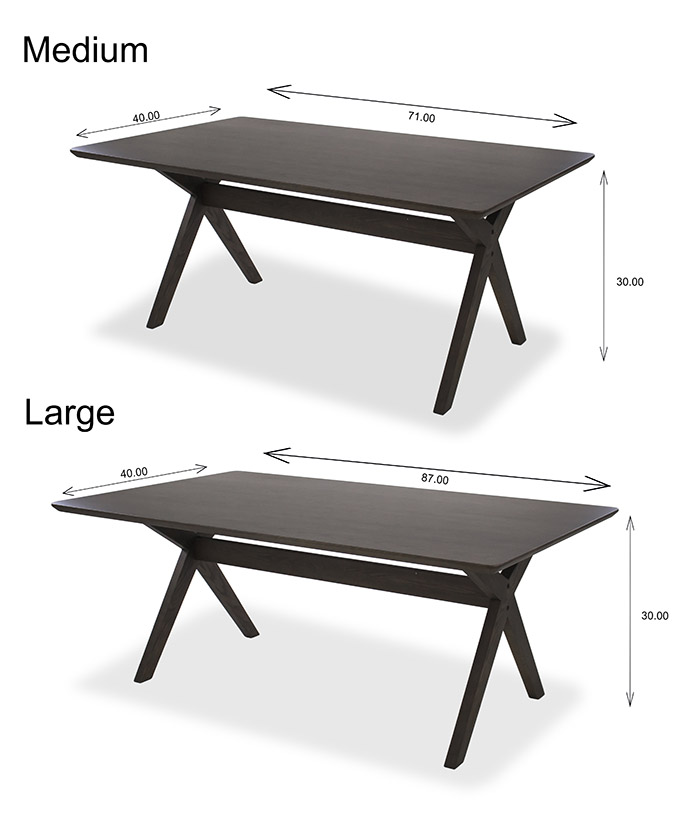 Lily Dining Table Dimensions