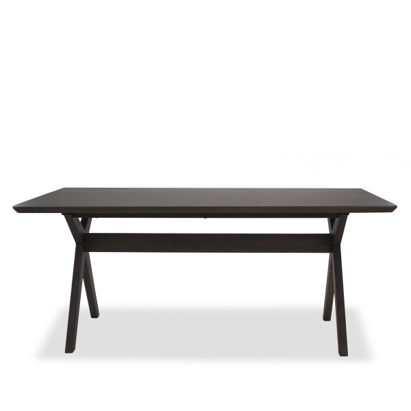 Lily Dining Table in Walnut, Straight