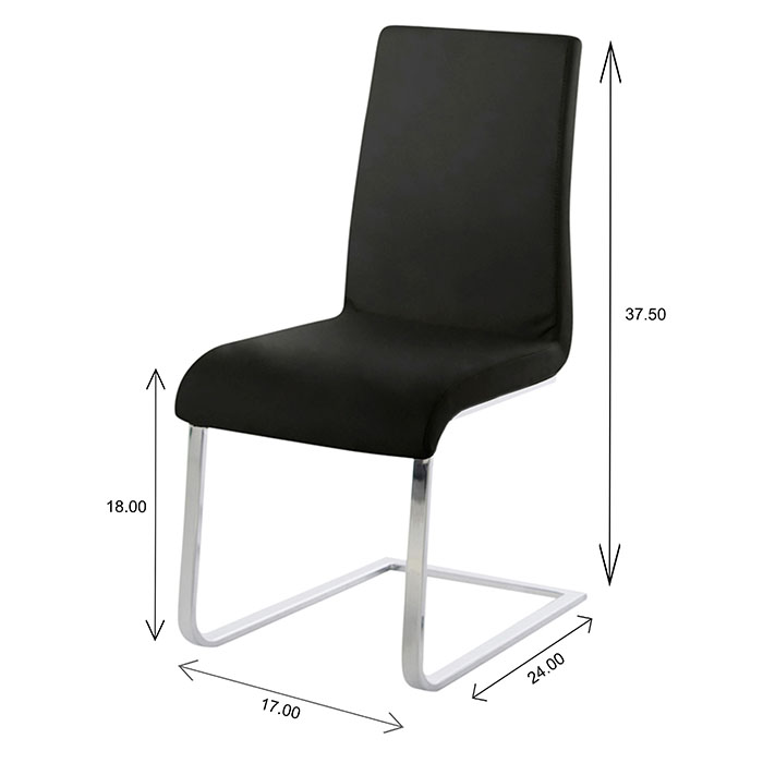 Maddox Dining Chair Dimensions