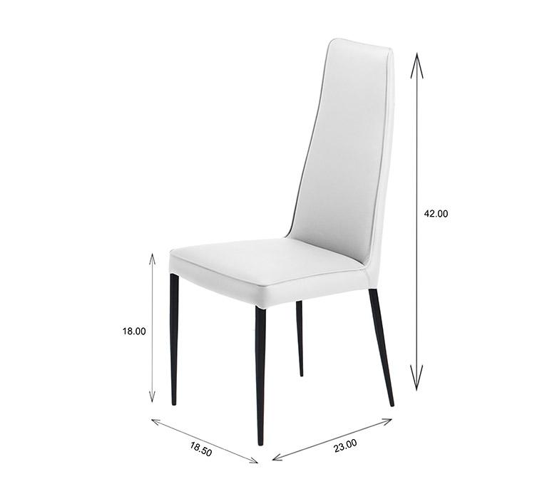 Mara Dining Chair Dimensions