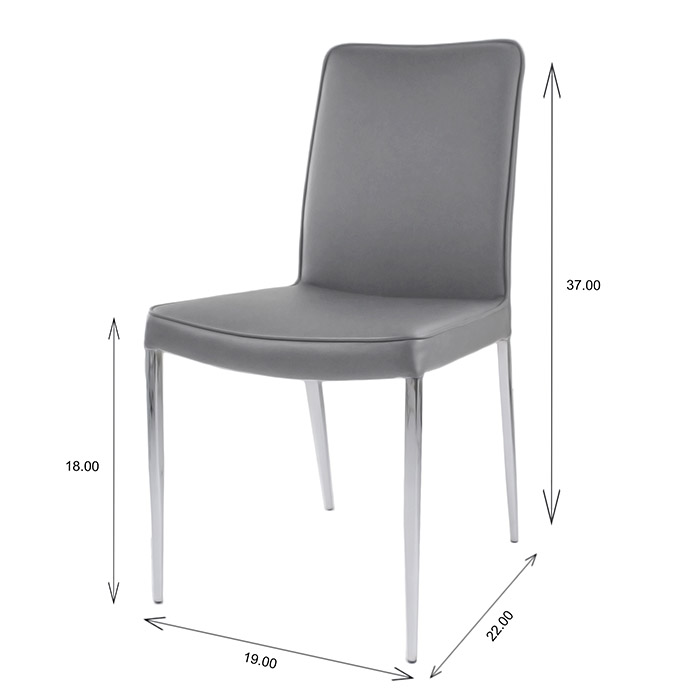 Monica Dining Chair Dimensions
